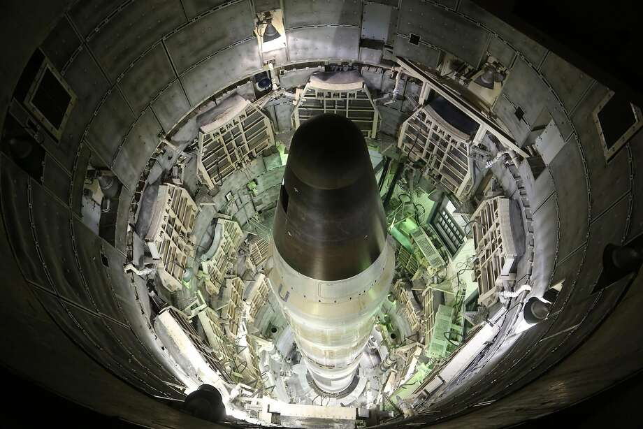 A Titan II missile silo in Damascus, Ark. Photo: American Experience Films/PBS, TNS