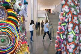 Inside the Anderson Collection at Stanford University on Wednesday, Oct. 26, 2016 in Stanford, Calif. The Chronicle of Philanthropy has ranked Stanford number 8 of top 400 nonprofits, based on how much money they raised. The Anderson Collection donated $622 million.