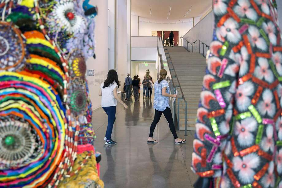 Stanford's 2015 donations included $622 million worth of artwork, much of it given by Harry Anderson and his family from their collection on display at the university. Photo: Santiago Mejia, The Chronicle