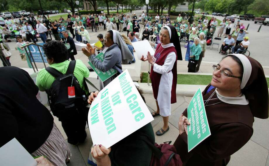 When the U.S. Supreme Court ruled states didn't have to expand Medicaid, Texas' GOP leadership flatly declared they wouldn't do it. That decision has cost Texas a fortune, leaving an estimated $100 billion in federal funds on the table. (File Photo) Photo: Bob Owen, Staff / ©2013 San Antonio Express-News