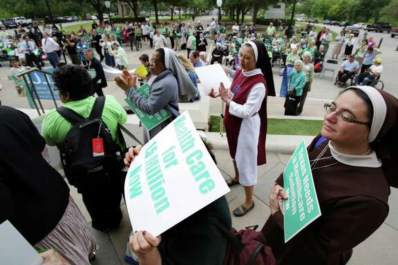 When the U.S. Supreme Court ruled states didn't have to expand Medicaid, Texas' GOP leadership flatly declared they wouldn't do it. That decision has cost Texas a fortune, leaving an estimated $100 billion in federal funds on the table. (File Photo)