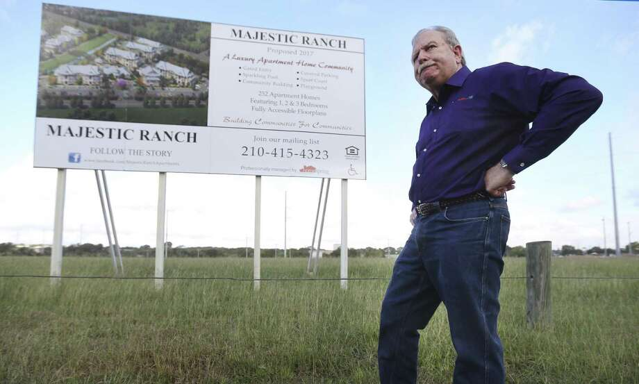 Local developer Mike Hogan want sto build a 288-unit subsidized apartment complex in the North Side neighborhood of Ingram Hills. Photo: William Luther /San Antonio Express-News / © 2016 San Antonio Express-News