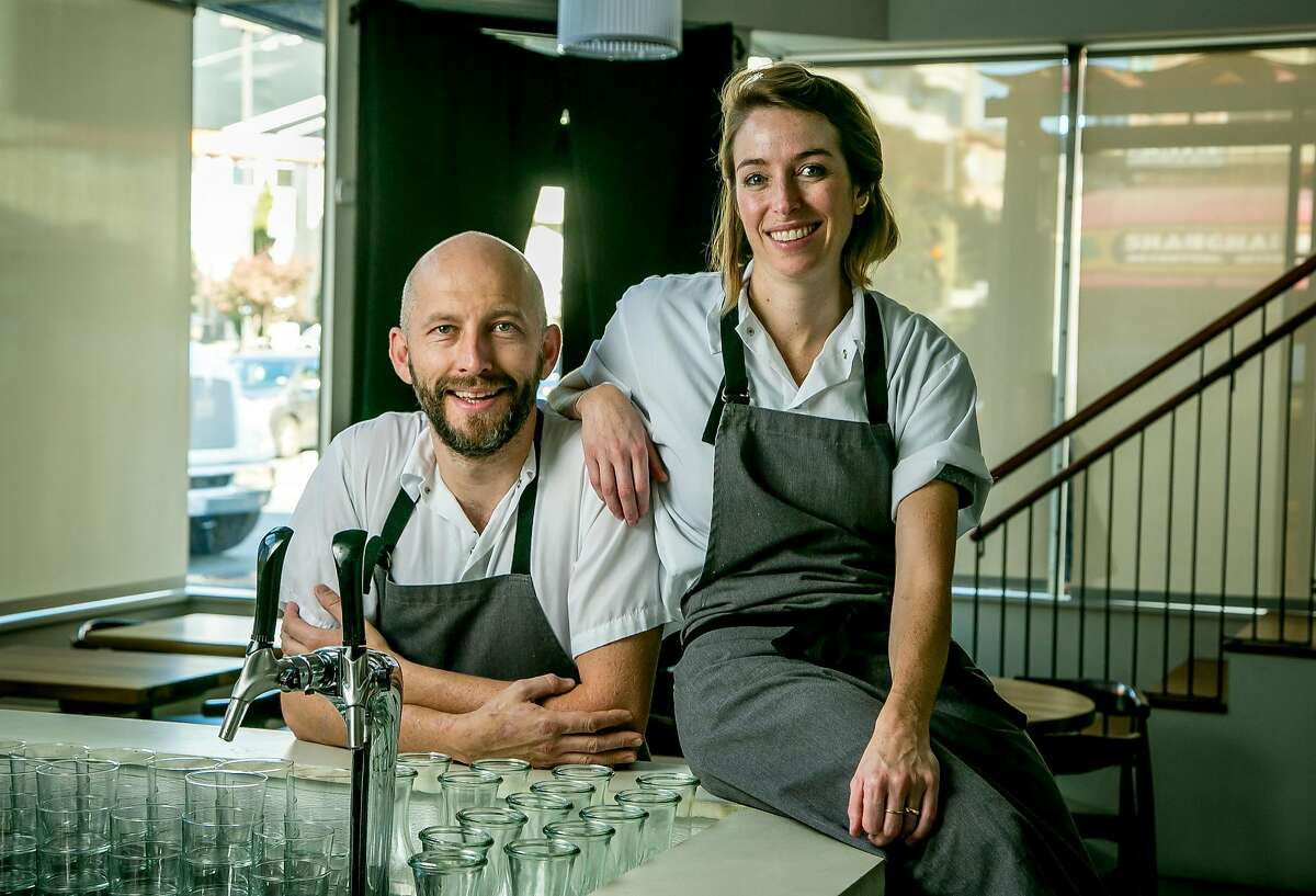 Chefs Rupert and Carrie Blease of Lord Stanley: