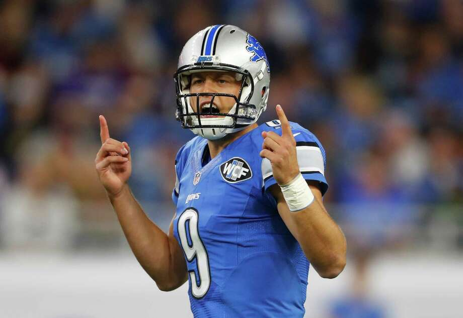 Matthew Stafford has led the Lions to a 4-3 start this season and a 10-5 record in their last 15 games. Photo: Paul Sancya, STF / AP
