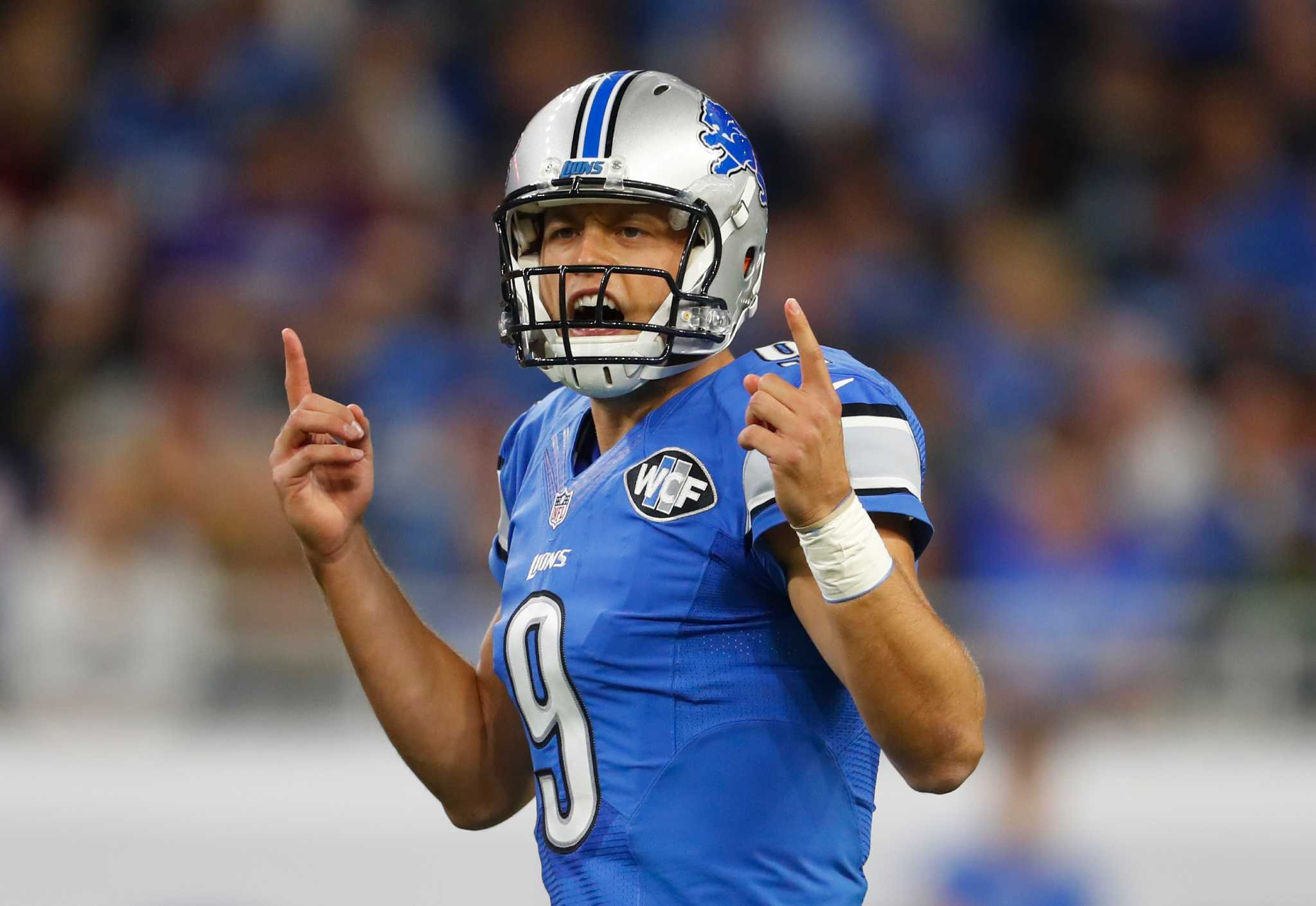 Lions Matthew Stafford latest No 1 test for Texans Houston