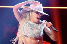 """The latest music from Lady Gaga, shown on """"Saturday Night Live,"""" is a rock-pop-country adventure."""