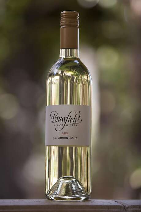 2015 Sauvignon Blanc from Brassfield Estate in Clearlake Oaks. Photo: Peter DaSilva, Special To The Chronicle