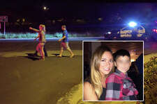 Screenshots taken from Facebook show Natalie Estelle Servantes, 28, who was found dead after chasing her towed car on the North Side. Servantes was either dragged or struck as she was chasing a tow truck up Vista Del Norte as it carried away her vehicle, investigators said.
