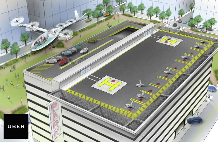 "Uber has a new futuristic vision, one that finally aligns with what ""The Jetsons"" promised us: flying cars. Photo: Uber"