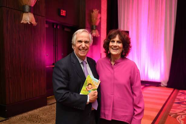 Henry Winkler and Donna Vallone