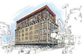 A development group from Memphis had planned to renovate the Burns Building into a boutique hotel.