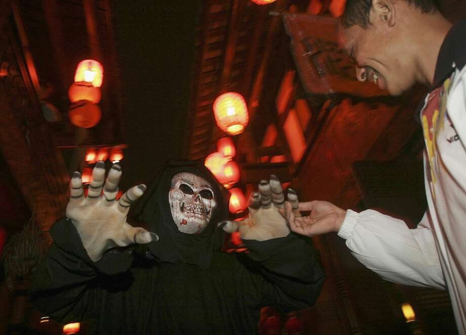 The Hub & Spoke restaurant/pub is holding its first ever Halloween celebration on Friday. Find out more. Photo: China Photos/Getty Images