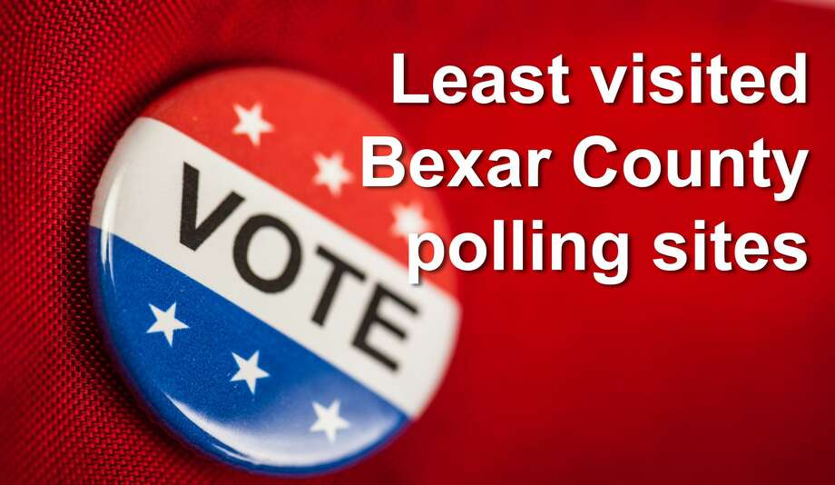 10 Bexar County polling locations with the shortest lines Photo: Getty Images