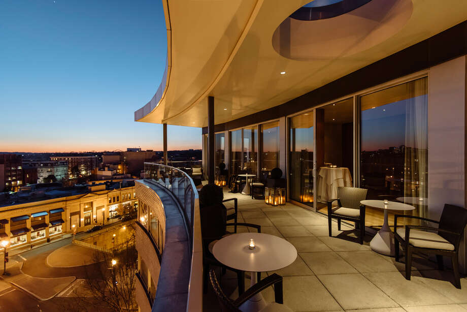 In an undated handout photo, a terrace at the Dupont Circle hotel in Washington. For election night, the Dupont Circle gives guests the chance to pick between a Democratic- or Republican-themed stay with its package, Slice of the City: Your Vote, Your Stay. (The Dupont Circle via The New York Times) -- NO SALES; FOR EDITORIAL USE ONLY WITH STORY SLUGGED ELECTION NIGHT DEALS BY VORA FOR OCT. 30 2016. ALL OTHER USE PROHIBITED. N  ORG XMIT: XNYT107 Photo: THE DUPONT CIRCLE / THE DUPONT CIRCLE