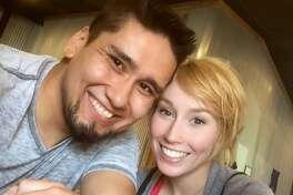 Robert Fabian (left), 25, was named a suspect in the disappearance of Zuzu Verk(right), his girlfriend, Oct. 26, 2016.