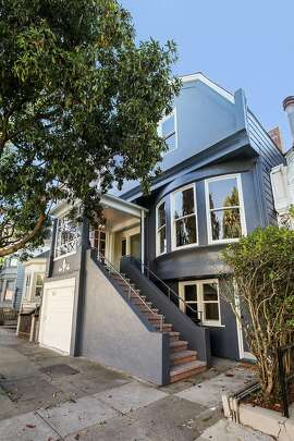 173 Belvedere St. in San Francisco's Haight-Ashbury neighborhood is a three bedroom Victorian that's been recently updated.