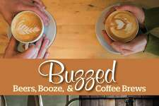 "New Fairfield author Erik Ofgang will talk about and sign copies of his new book, ""Buzzed: Beers, Booze, & Coffee Brews,"" at Byrd's Books in Bethel, on Saturday, Oct. 29, at 4 p.m."