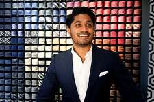 Nish de Gruter, Vice President of Suitsupply, a European brand known for tailoring men's wear, in the company's new showroom on Mason Street in Greenwich, Conn., Oct. 28, 2016. Suitsupply offers a full collection of suits and casual wear and features an on-site tailor for on-demand alterations.
