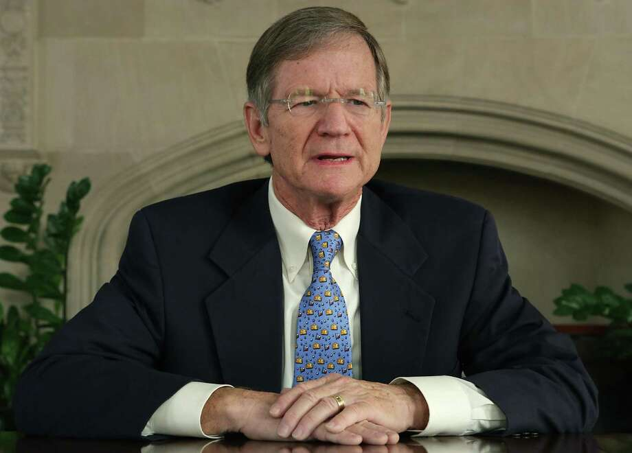 """""""A new report by the Bureau of Labor Statistics shows that in 2016 Americans spent more on taxes than they did on food and clothing combined,"""" said U.S. Rep. Lamar Smith, seen on Oct. 13, 2016, in a letter to constituents. Photo: Bob Owen /San Antonio Express-News / ©2016 San Antonio Express-News"""