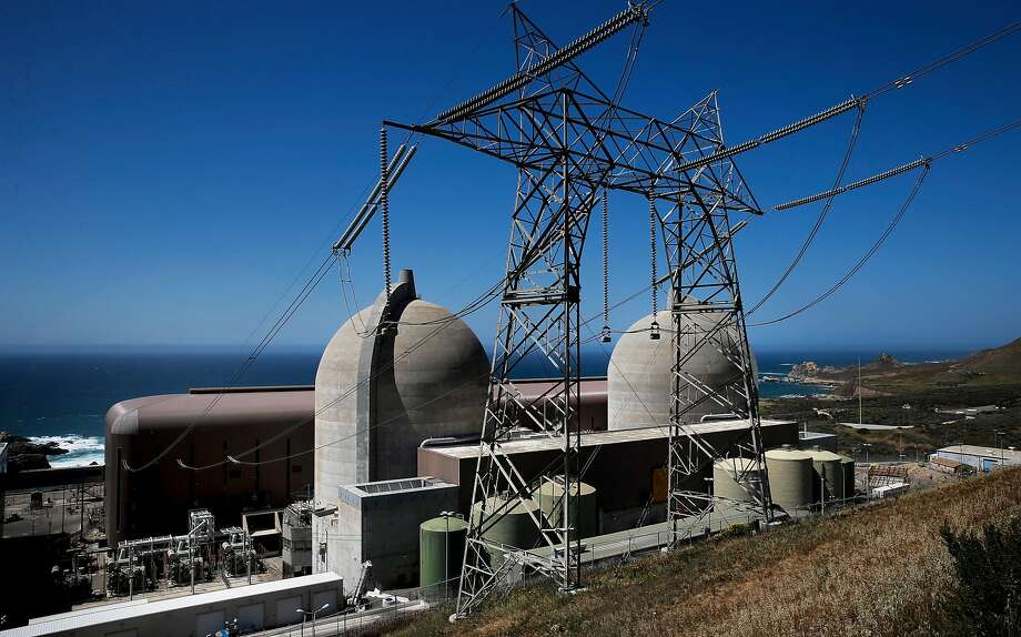 The Diablo Canyon Nuclear Power in San Luis Obispo. California utility regulators could vote in December on a plan by Pacific Gas and Electric Co. to close the plant. Photo: Michael Macor, The Chronicle