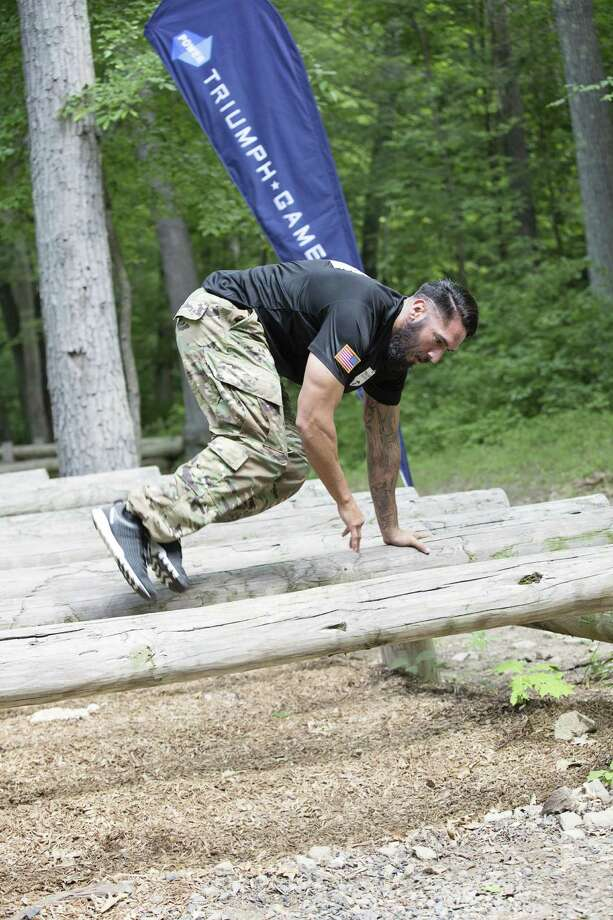 San Antonio wounded warrior Michael Gallardo takes on a variety of physical and mental challenges during the upcoming reality TV miniseries '2016 Power Triumph Games' on CBS Sports Network. The games will be punctuated by an hour-long special on CBS. Photo: Courtesy / Triumph Games