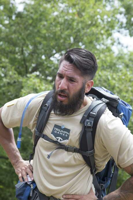 """San Antonio's Michael Gallardo is one of 10 athletic U.S. veterans with catastrophic injuries that will be featured on a different kind of reality competition: the nationally televised """"Power Triumph Games"""" on broadcast channel CBS and the CBS Sports network on cable and satellite television. Photo: Courtesy / Triumph Games"""