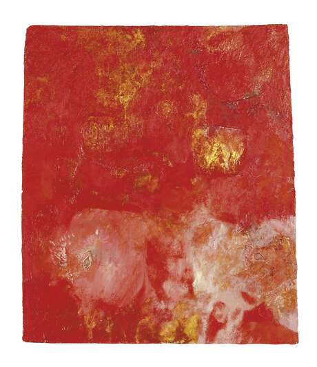 UNTITLED, May 10, 1957; oil and gold leaf on Masonite. Photo: � 2016 Conner Family Trust, San Francisco / Artists Rights Society (ARS), New York