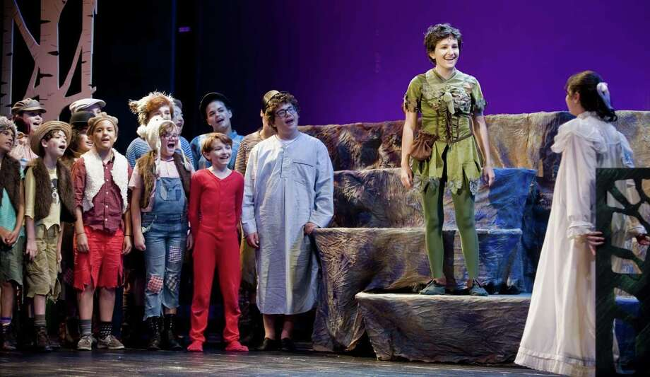 Cast Members Of Curtain Calls Recent Production Peter Pan At The Sterling Farms