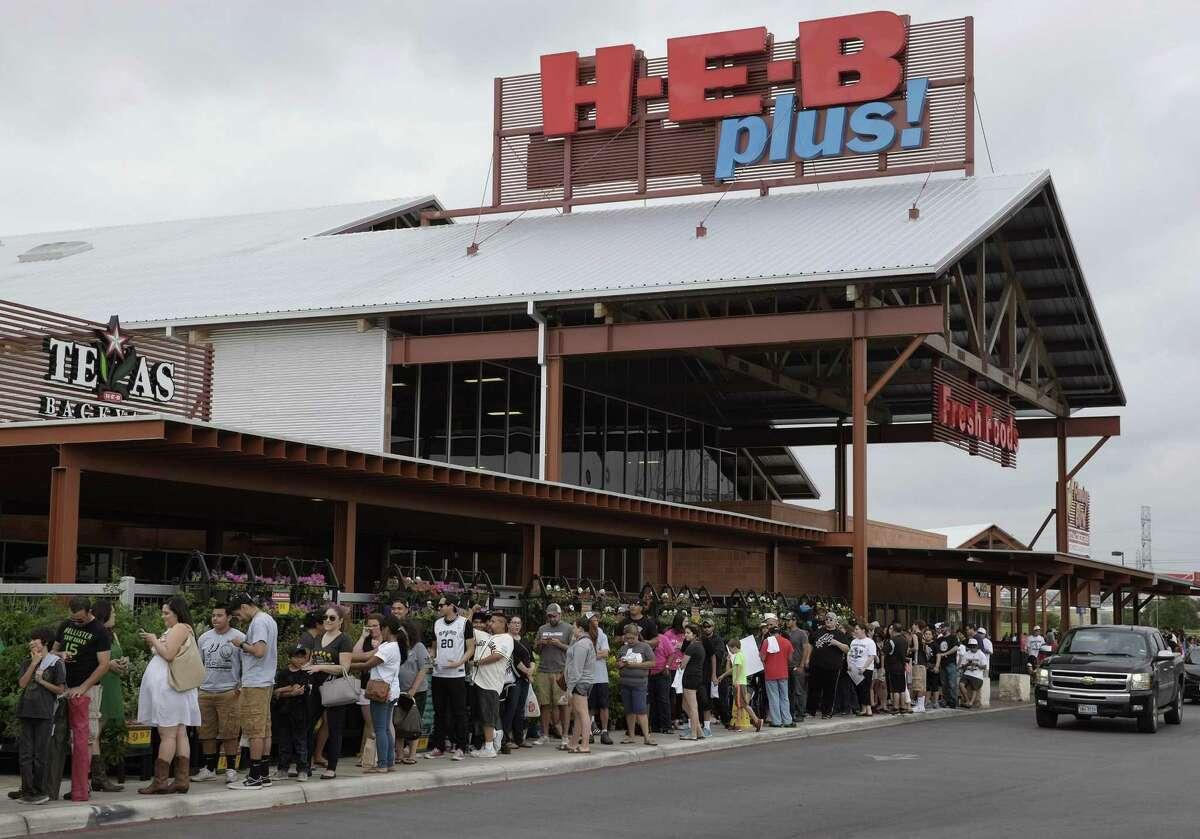 H-E-B: Closes at 8 p.m.