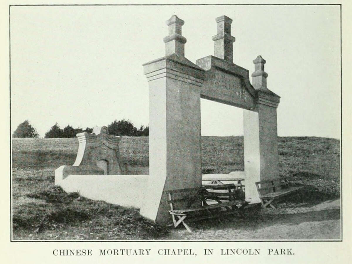 What they used to be: Golden Gate Cemetery (aka City Cemetery) Whereas the