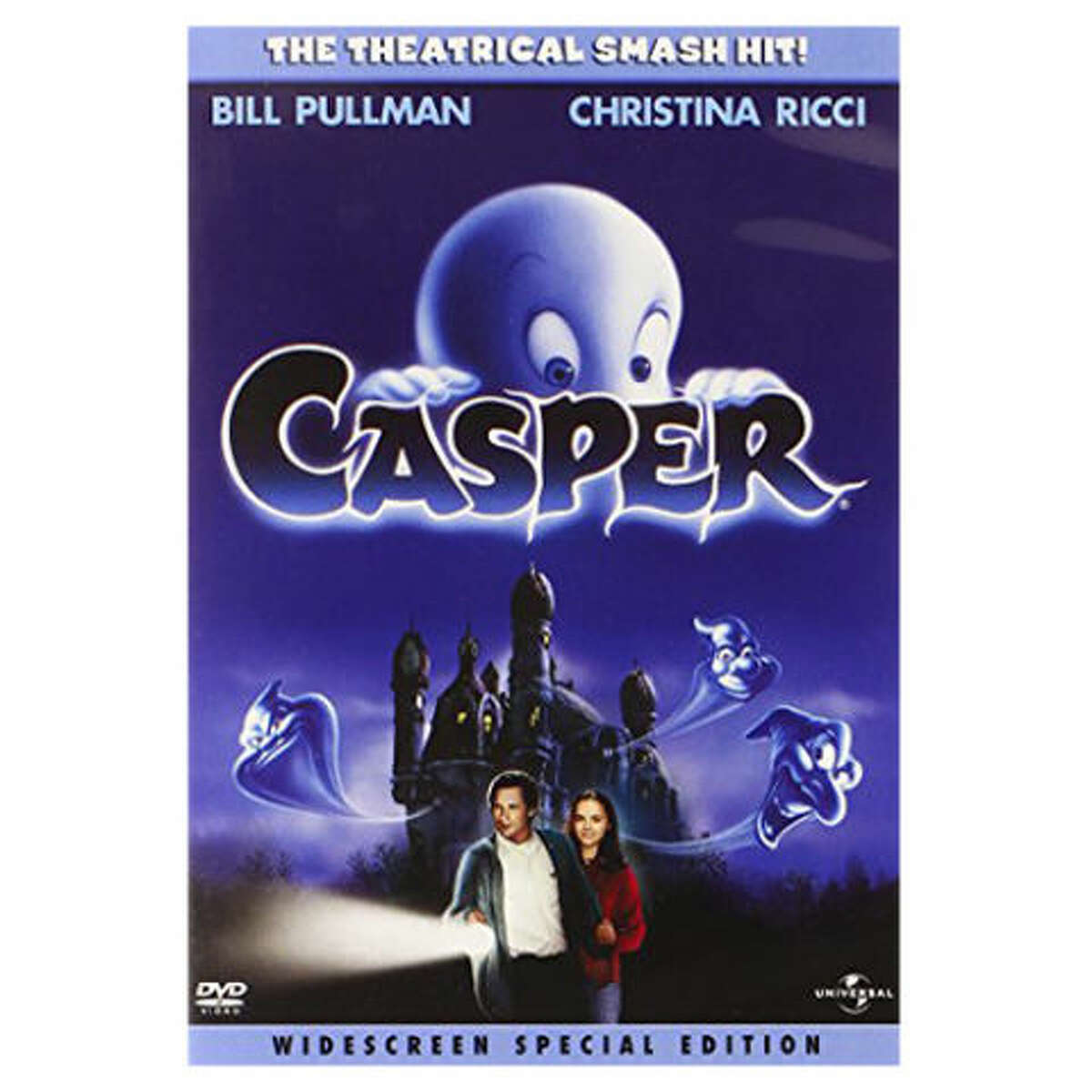 Casper (1995)Leaving Netflix May 1A paranormal expert and his daughter bunk in an abandoned house populated by three mischievous ghosts and one friendly one.