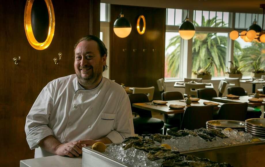 Chef Joseph Humphrey at Limewood. Photo: John Storey, Special To The Chronicle