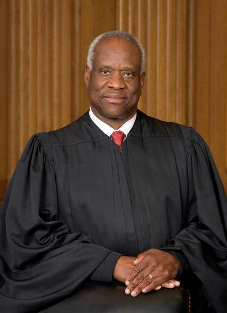 Supreme Court Justice Clarence Thomas. (The Collection of the Supreme Court of the United States/TNS) Photo: Handout, HO / TNS