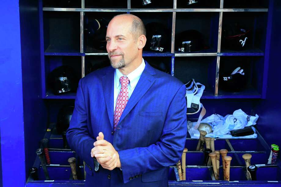 ATLANTA, GA - OCTOBER 02: Former Atlanta Braves player John Smoltz stands in the dugout after the game against the Detroit Tigers at Turner Field on October 2, 2016 in Atlanta, Georgia. (Photo by Daniel Shirey/Getty Images) ORG XMIT: 607686017 ORG XMIT: MER2016102716581736 Photo: Daniel Shirey / 2016 Getty Images