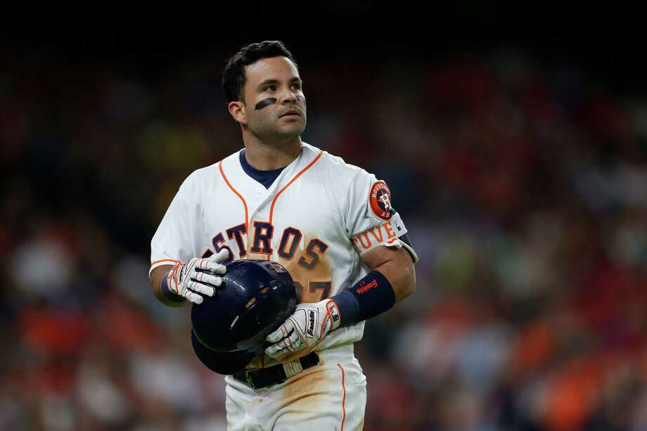 Astros second baseman Jose Altuve hit .338 and a career-high 24 home runs in 2016 en route to a second batting title. Photo: Karen Warren, Staff / © 2016 Houston Chronicle