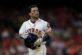 Astros second baseman Jose Altuve hit .338 and a career-high 24 home runs in 2016 en route to a second batting title.