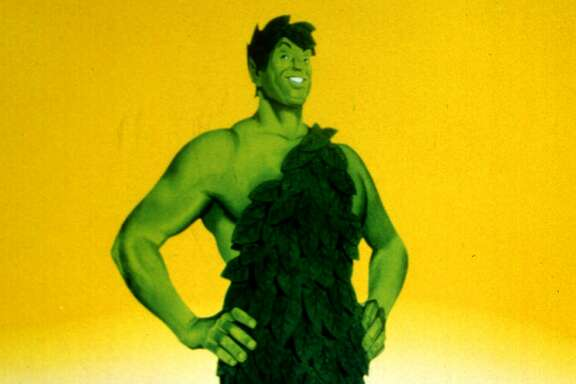 The Jolly Green Giant, shown in it's 1999 rendition, is returning after eight years of silence as the elder spokesman for the country's largest vegetable brand. Green Giant is bringing the voice onto its Web site and putting the big guy back into its print ads in a $20 million advertising and promotional campaign being announced Tuesday, August 10, 1999, to boost brand awareness as the giant approaches his 75th birthday. (AP Photo/Jim Mone)