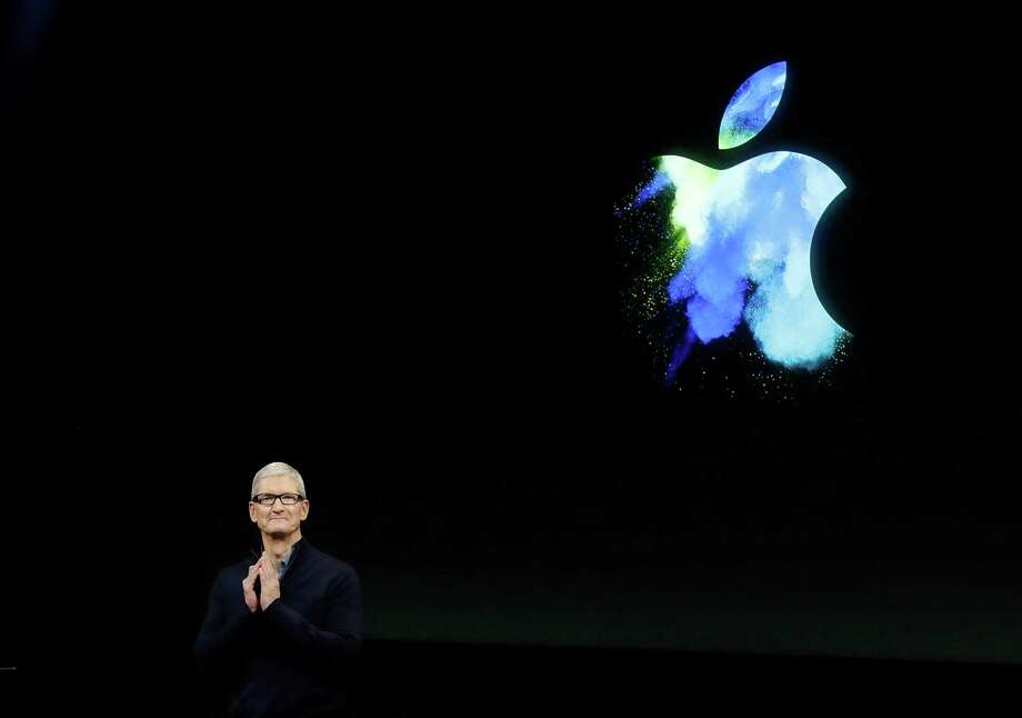Apple CEO Tim Cook speaks during an announcement of new products Thursday, Oct. 27, 2016, in Cupertino, Calif. (AP Photo/Marcio Jose Sanchez) Photo: Marcio Jose Sanchez, STF / Copyright 2016 The Associated Press. All rights reserved.