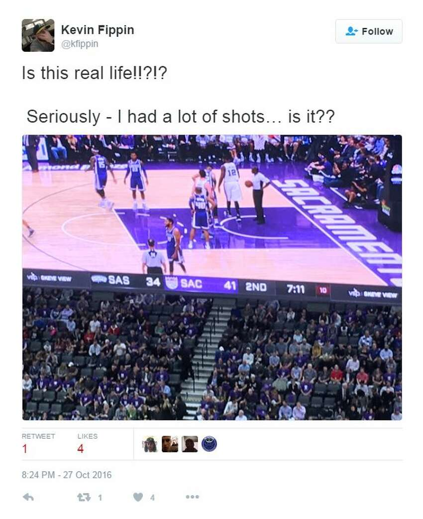 Social reaction as Spurs clashed with the Kings Oct. 27, 2016.