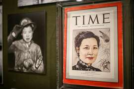"""The Chinese Historical Society of America's new exhibit """"Chinese American Exclusion/Inclusion"""" at the Chinese History Society Museum on Thursday, Oct 27, 2016 in San Francisco, Calif."""