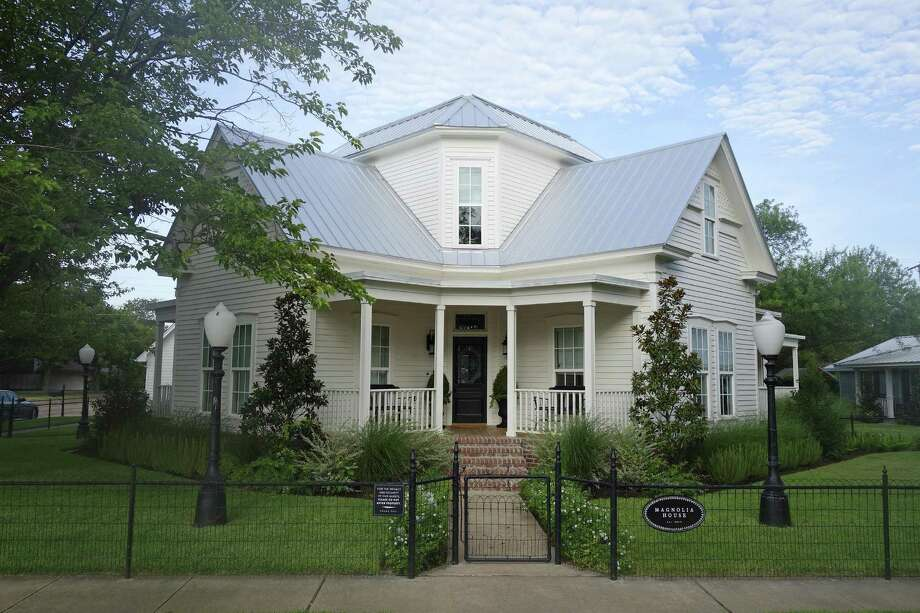 Magnolia house is reflection of fixer upper style by for Chip and joanna gaines houses for sale