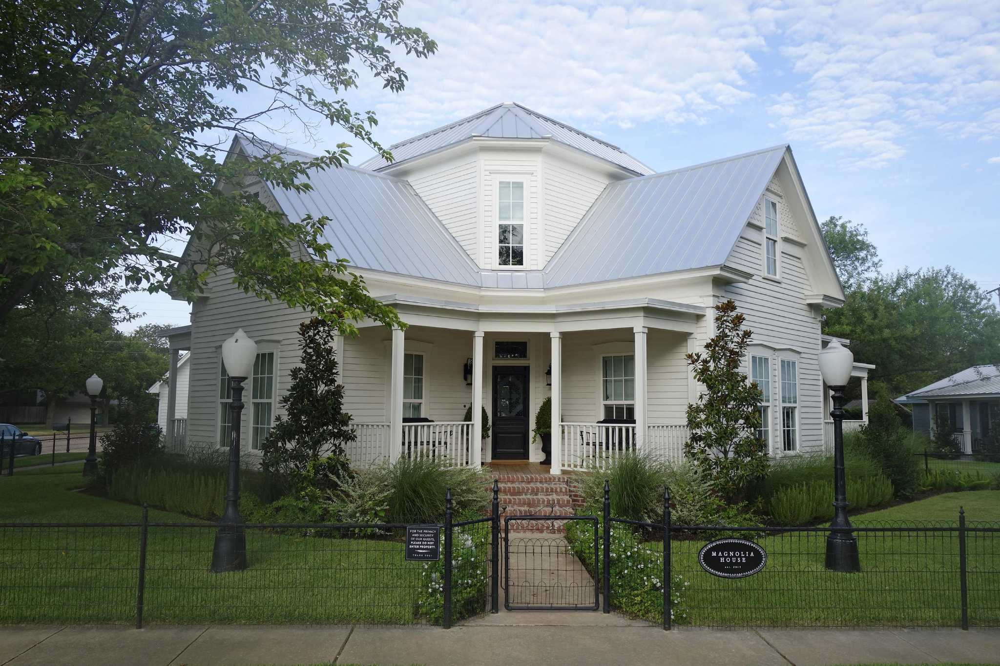 Magnolia House is reflection of fixer upper style by Joanna and