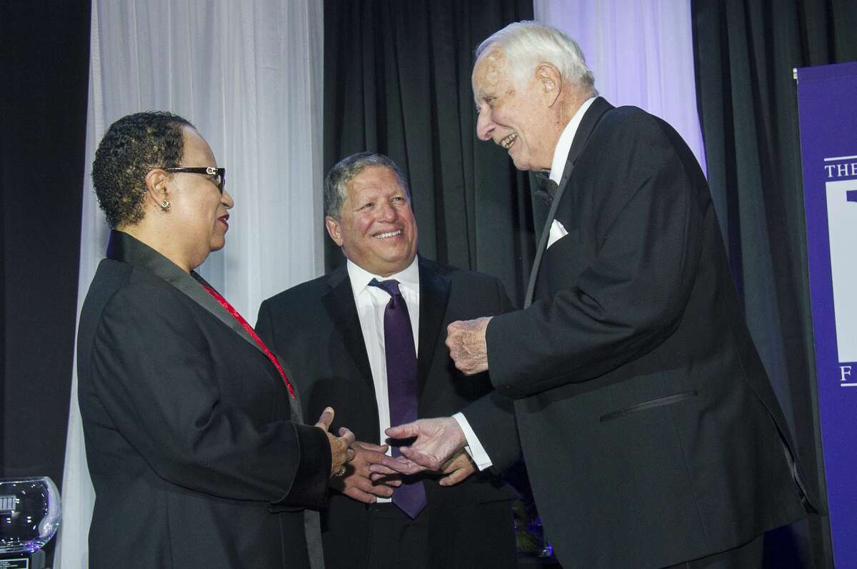 Were you Seen at the University at Albany Foundation's 37th Annual Citizen Laureate Awards honoring Shirley Ann Jackson, Angelo Mazzone and Walter L. Robb, at SEFCU Arena in Albany on Thursday, Oct. 27, 2016?