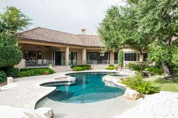 """San Antonio Spurs star Manu Ginobili listed his home in The Dominion with amenities like a wine cellar and private outdoor """"oasis"""" for $2 million this week."""
