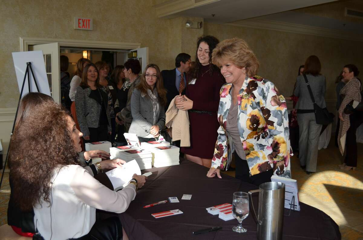 Were you Seen at theCapital Region Chamber's Bold in Business Annual Forum featuring author Aimee Cohen, held at the Glen Sanders Mansion in Scotia onFriday Oct. 28, 2016?