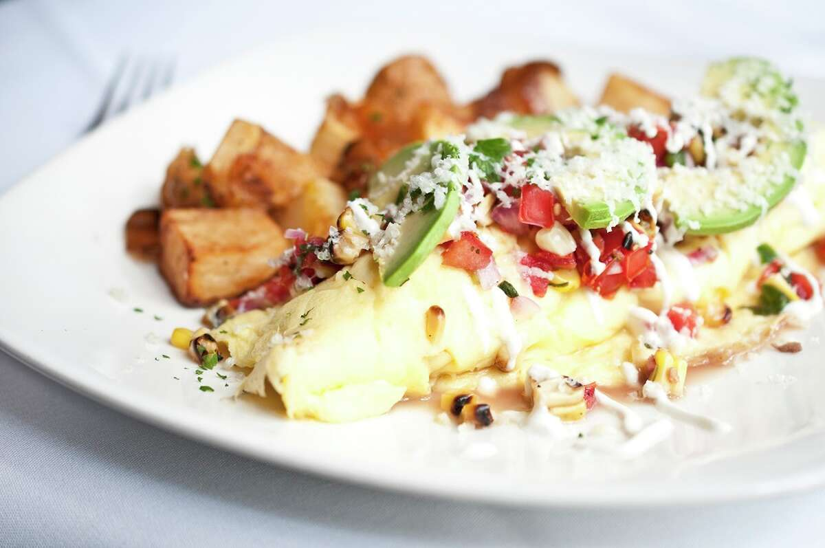 The original Brenner's Steakhouse in Houston, 10911 Katy Fwy., is now offering Sunday brunch from 11 a.m. to 3 p.m. The restaurant recently marked its 80th anniversary. Shown: Southwestern Omelet.