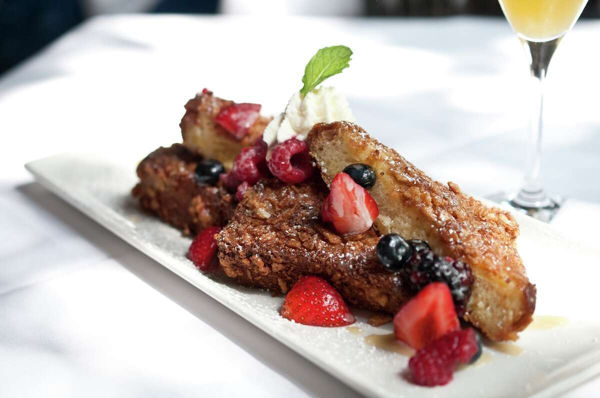 The original Brenner's Steakhouse in Houston, 10911 Katy Fwy., is now offering Sunday brunch from 11 a.m. to 3 p.m. The restaurant recently marked its 80th anniversary. Shown: French Cinnamon Toast Crunch.