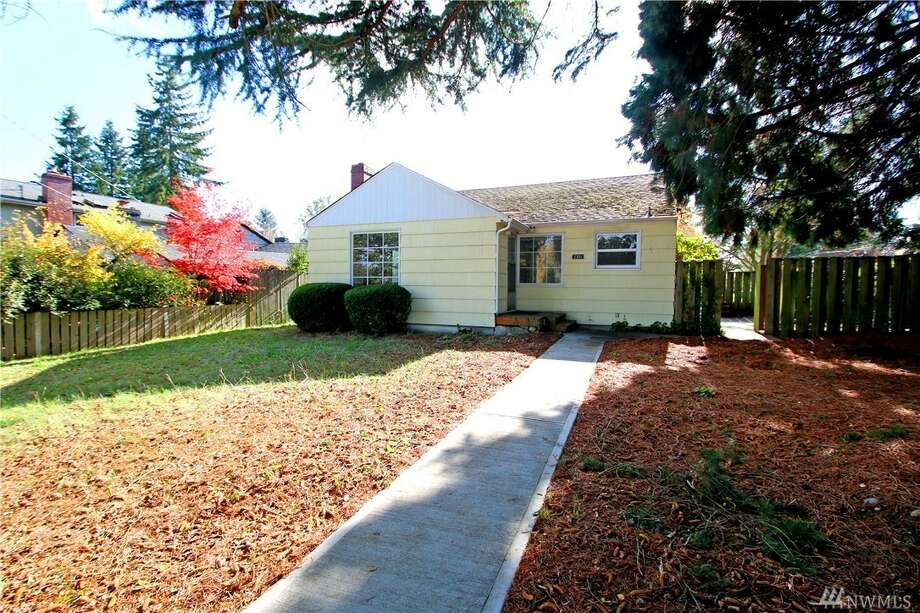 The first home, at 2301 N. 140th St., is listed for $399,950. The three-bedroom, 1½-bathroom home is 1,590 square feet. It is in Haller Lake.The home has a large two-car garage, new vinyl windows and a wood-burning fireplace. It is on a corner lot.There will be a showing for this home on Saturday, Oct. 29 from noon to 3 p.m. and Sunday, Oct. 30 from 1 p.m. to 4 p.m. You can see the full listing here. Photo: Photos And Listing Courtesy Brad Masters, John L. Scott, Inc.