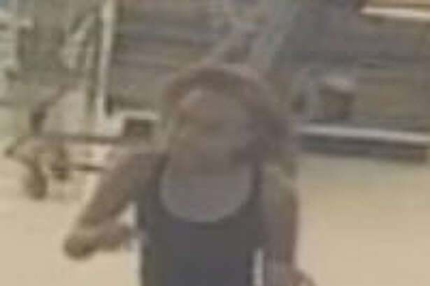 Above is a screen shot of a video of the robbery of the Kroger Marketplace in the Summerwood area Oct. 27 around 7:30 p.m. HCSO investigators were called to the store in the 14200 block of E. Sam Houston Parkway where it was reported that a male and female suspects entered the store and approach the service counter.