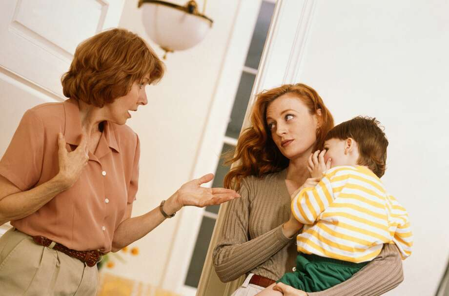A reader says her mother in-law is trying to pressure them into something they just don't feel comfortable with and won't take no for an answer. Photo: Stuart Hughs, Getty Images